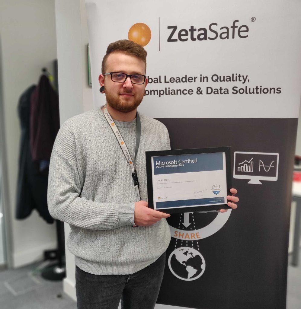 Kieran Becomes Microsoft Certified In Azure Fundamentals